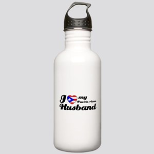 Puerto Rican Husband Stainless Water Bottle 1.0L