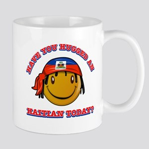 Have you hugged a Haitian today? Mug