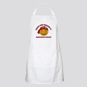 Have you hugged a Bermudian today? Apron