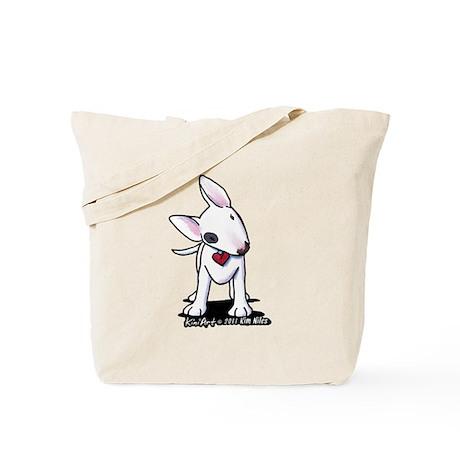 Bull Terrier Spot Tote Bag