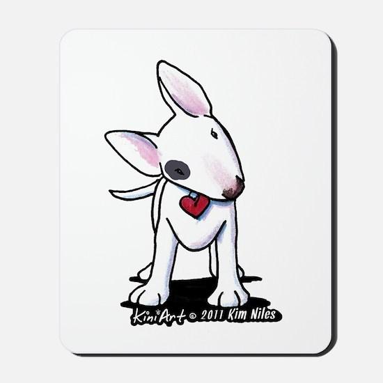Bull Terrier Spot Mousepad