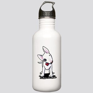Bull Terrier Spot Stainless Water Bottle 1.0L