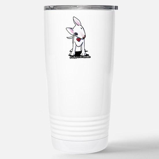 Bull Terrier Spot Stainless Steel Travel Mug