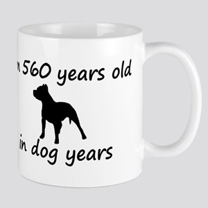 80 Dog Years Pitbull 2 Mugs