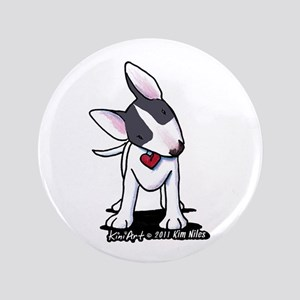 "Masked Bull Terrier II 3.5"" Button"