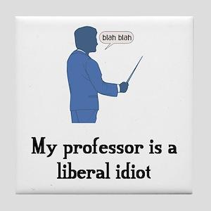 Liberal Professor Tile Coaster