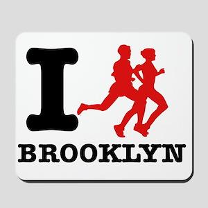 I run brooklyn Mousepad