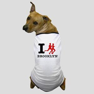 I run brooklyn Dog T-Shirt