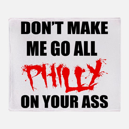 All Philly Throw Blanket