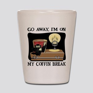 Coffin Break Shot Glass