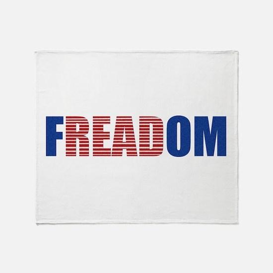 FREADOM Throw Blanket
