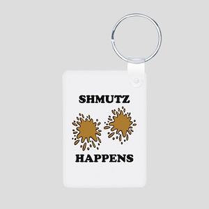 Shmutz Happens Aluminum Photo Keychain
