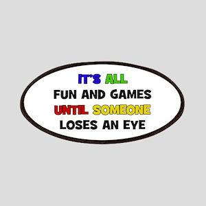 Fun & Games - Eye Patches