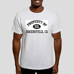 Property of Bakersfield Ash Grey T-Shirt