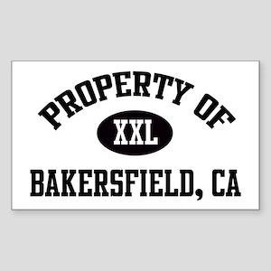 Property of Bakersfield Rectangle Sticker