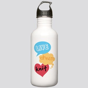 Knitting Gift Stainless Water Bottle 1.0L