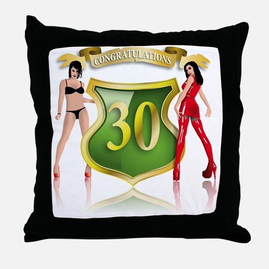 Cool Sexy 40 Throw Pillow