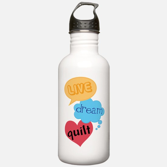 Quilting Gift Water Bottle