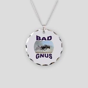BAAAD Necklace Circle Charm