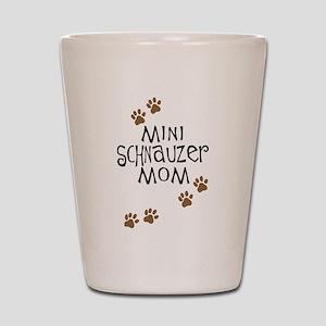 Mini Schnauzer Mom Shot Glass