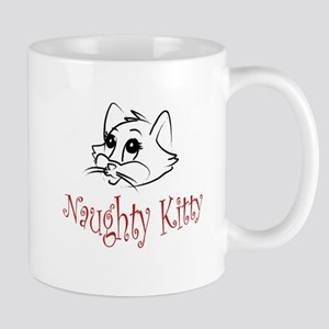6x6_naughty_kitty Mugs