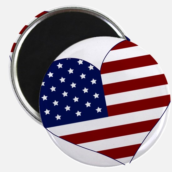 "American Heart 2.25"" Magnet (10 pack)"