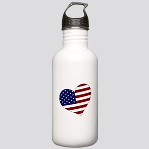 American Heart Stainless Water Bottle 1.0L