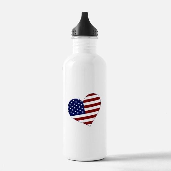 American Heart Water Bottle