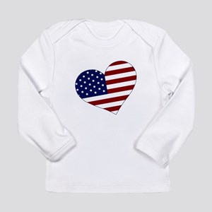 American Heart Long Sleeve Infant T-Shirt