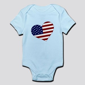 American Heart Infant Bodysuit