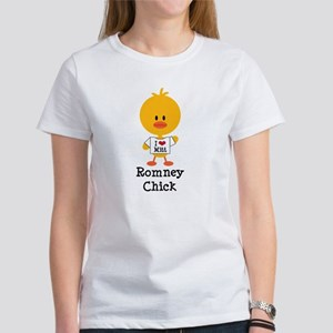 Mitt Romney Chick Women's T-Shirt