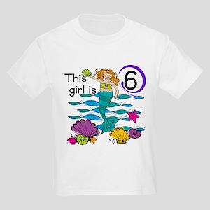 Hoot Owl 6th Birthday Kids Light T-Shirt