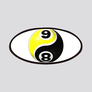 8 Ball 9 Ball Yin Yang Patches