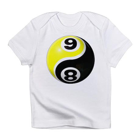 8 Ball 9 Ball Yin Yang Infant T-Shirt