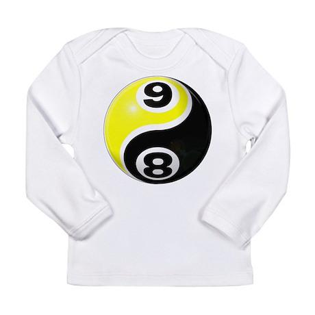 8 Ball 9 Ball Yin Yang Long Sleeve Infant T-Shirt