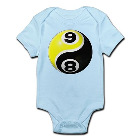 8 Ball 9 Ball Yin Yang Infant Bodysuit