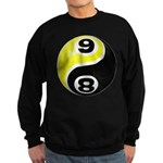 8 Ball 9 Ball Yin Yang Sweatshirt (dark)