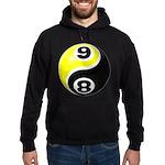 8 Ball 9 Ball Yin Yang Hoodie (dark)