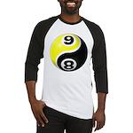 8 Ball 9 Ball Yin Yang Baseball Jersey