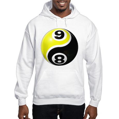 8 Ball 9 Ball Yin Yang Hooded Sweatshirt
