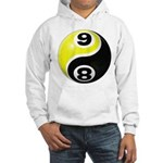 8 Ball 9 Ball Yin Yang Hooded Sweatshirt