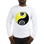 8 Ball 9 Ball Yin Yang Long Sleeve T-Shirt