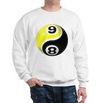 8 Ball 9 Ball Yin Yang Sweatshirt