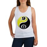 8 Ball 9 Ball Yin Yang Women's Tank Top
