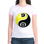 8 Ball 9 Ball Yin Yang Jr. Ringer T-Shirt