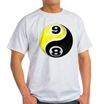 8 Ball 9 Ball Yin Yang Light T-Shirt