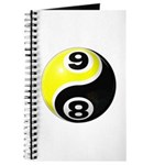 8 Ball 9 Ball Yin Yang Journal