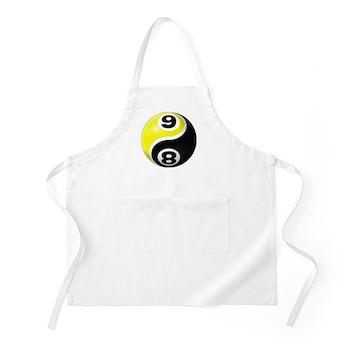 8 Ball 9 Ball Yin Yang Apron