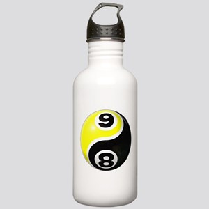 8 Ball 9 Ball Yin Yang Stainless Water Bottle 1.0L