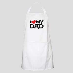 I Love My Dad BBQ Apron